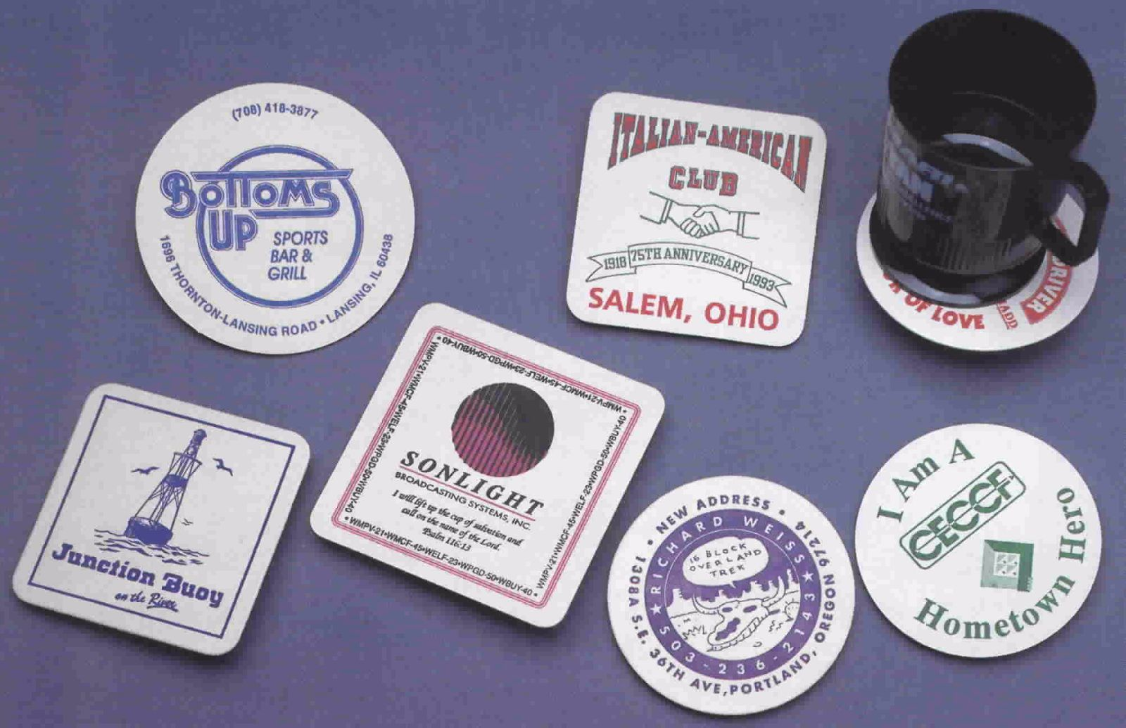Use Promotional Coasters for Marketing