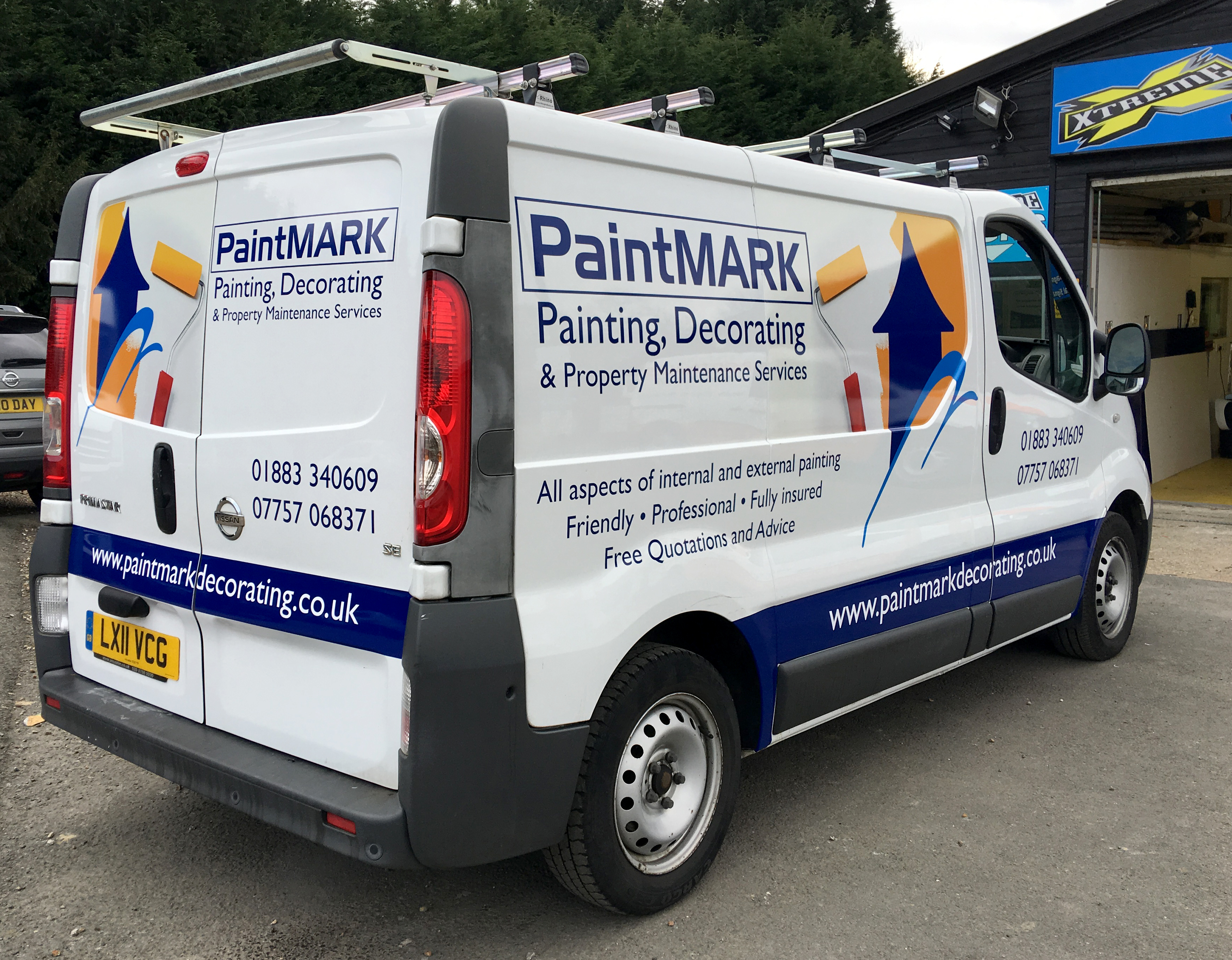 Signage and Sign Writing Services